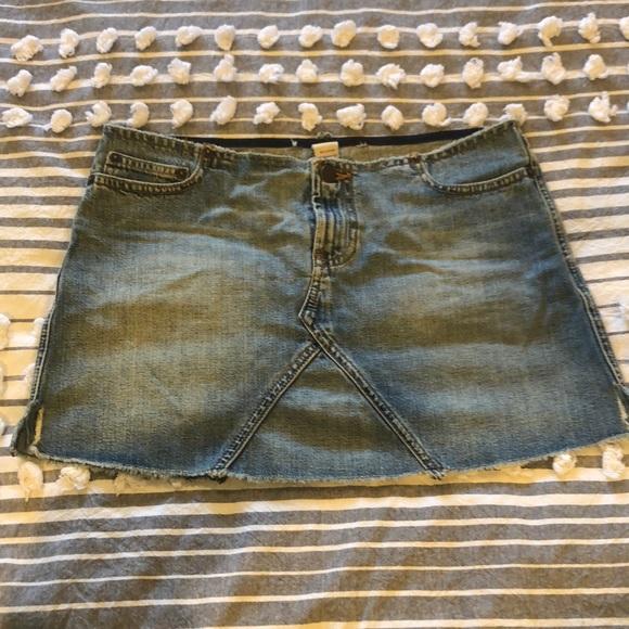 48d1237415 Abercrombie & Fitch Skirts | Abercrombie Fitch Denim Mini Skirt W ...